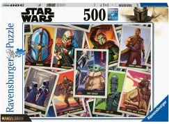 Ravensburger puzzle 165612 The Mandalorian - Baby Yoda 500 dílků