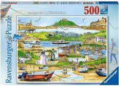 Ravensburger puzzle 165742 Únik do Cornwallu 500 dílků
