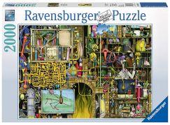 Ravensburger Puzzle 166428 Bláznivá laboratoř 2000 dílků