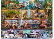 Ravensburger Puzzle 166527 Zvířecí svět 2000 dílků