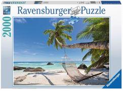 Ravensburger Puzzle 166992 Houpací síť na pláži 2000 dílků