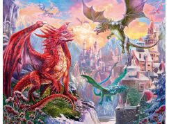 Ravensburger Puzzle 167173 Mystický drak 2000 dílků