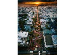 Ravensburger Puzzle 167326 Ulice San Francisca 1000 dílků