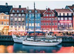 Ravensburger Puzzle 167395 Skandinávie Kodaň, Dánsko 1000 dílků