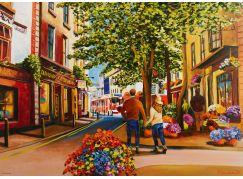 Ravensburger Puzzle 167784 Romance v Galway 1000 dílků
