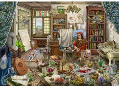 Ravensburger Puzzle 167821 Exit Puzzle Umělecké studio 759 dílků