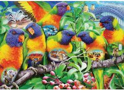 Ravensburger Puzzle 168156 Země papoušků 1000 dílků