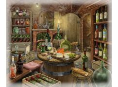 Ravensburger Puzzle 168804 Exit Puzzle Vinný sklep 99 dílků