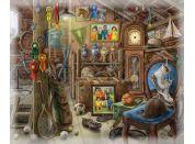 Ravensburger Puzzle 168811 Exit Puzzle Podkroví 99 dílků