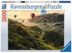 Ravensburger Puzzle 170760 Rýžové terasy v Asii 3000 dílků