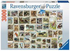 Ravensburger Puzzle 170791 Zvířecí známky 3000 dílků