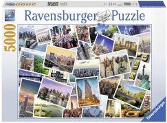 Ravensburger Puzzle 174331 NY City nikdy nespí 5000 dílků