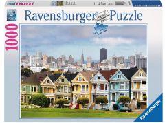 Ravensburger Puzzle 193653 Malované domy v San Francisco 1000 dílků