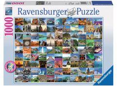 Ravensburger Puzzle 193714 99 nejkrásnějších míst světa 1000 dílků