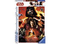 Ravensburger Puzzle 197774 Disney Star Wars: tmavá tvář 1000 dílků