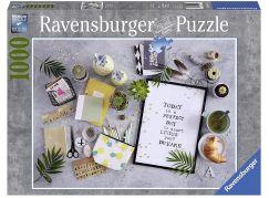 Ravensburger Puzzle 198290 Začni žít svůj sen 1000 dílků