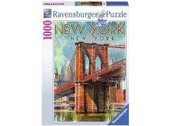 Ravensburger Puzzle 198351 Retro New York 1000 dílků