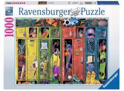 Ravensburger Puzzle 198627 Zamčený pokoj 1000 dílků