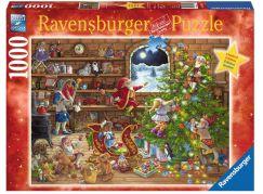 Ravensburger Puzzle 198825 Odpočítávání Vánoc 1000 dílků