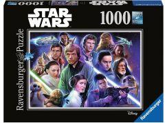Ravensburger Puzzle 198870 Disney Star Wars: limitovaná edice 6 1000 dílků