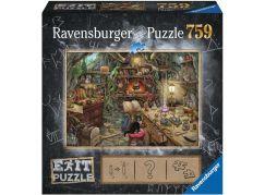 Ravensburger puzzle 199525 Exit Puzzle Kouzelnická kuchyně 759 dílků - Poškozený obal