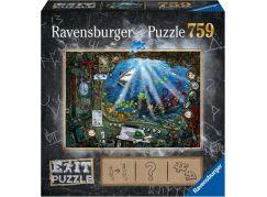 Ravensburger puzzle 199532 Exit Puzzle Ponorka 759 dílků