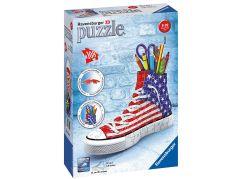 Ravensburger Puzzle 3D 125494 Kecka Vlajkový design 108 dílků