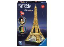 Ravensburger Puzzle 3D Eiffelova věž (Noční edice) 216d