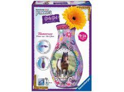 Ravensburger Puzzle 3D Girly Girl Váza - Kůň - Poškozený obal