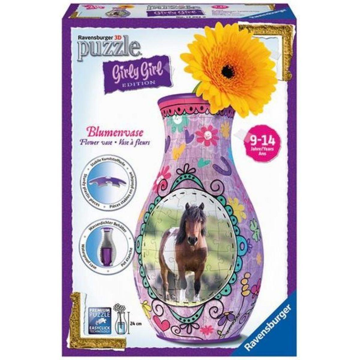 Ravensburger Puzzle 3D Girly Girl Váza - Kůň