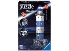 Ravensburger Puzzle 3D Maják v příboji (Noční edice) 216d