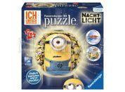 Ravensburger Puzzle 3D Mimoňové svítící puzzleball 72 dílků