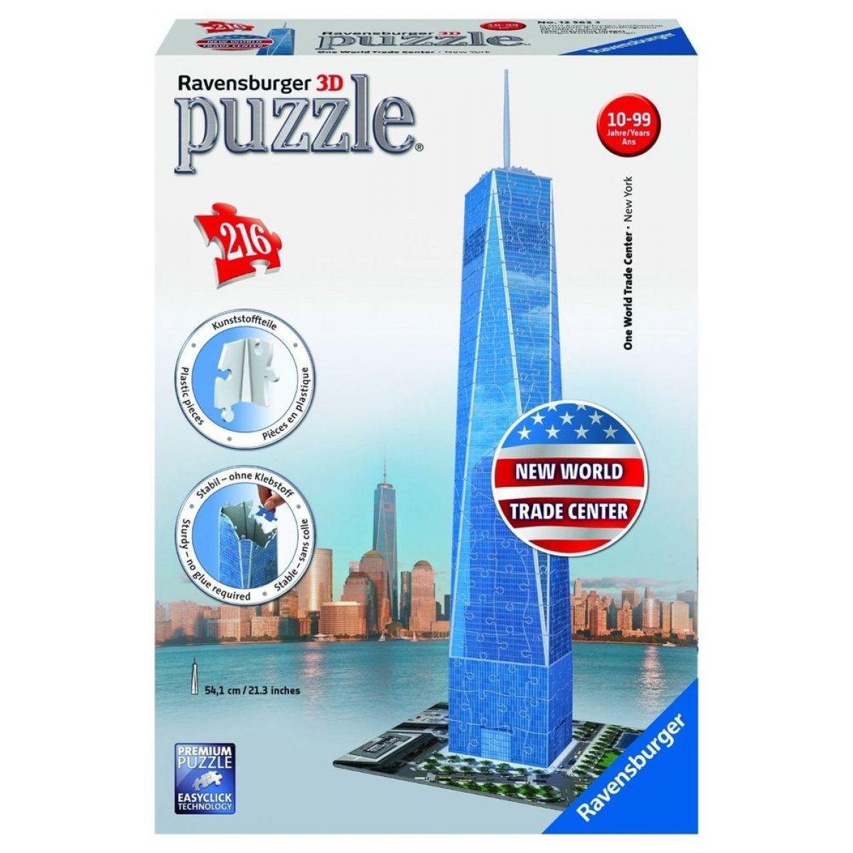 Ravensburger Puzzle 3D One World Trade Center 216 dílků