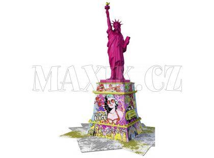 Ravensburger Puzzle 3D Pop Art Edition Socha svobody 108 dílků