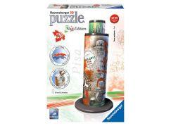 Ravensburger Puzzle 3D Šikmá věž v Pise Vlajková edice 216 dílků