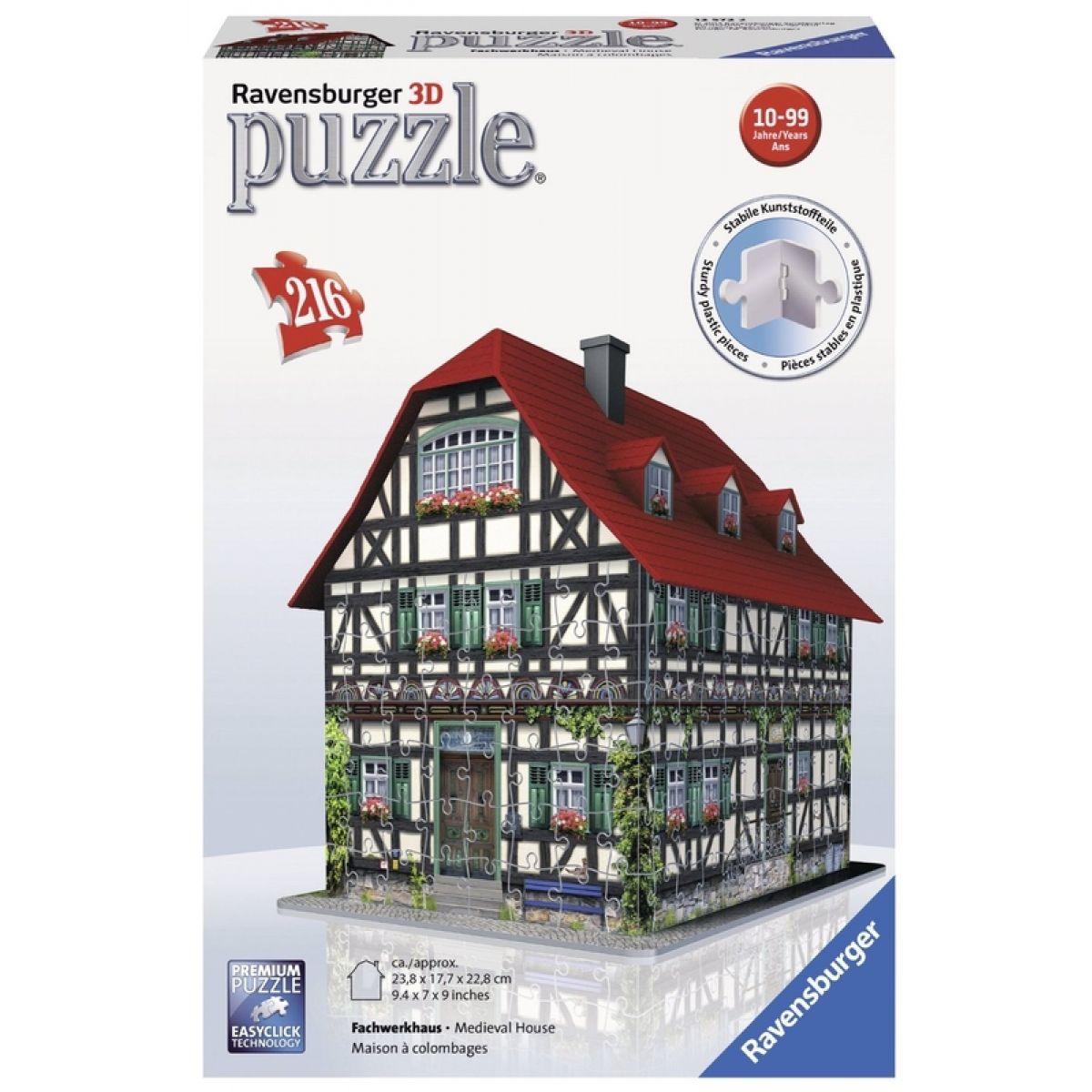 Ravensburger Puzzle 3D Středověký dům 216d