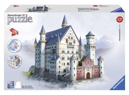 Ravensburger Puzzle 3D Zámek Neuschwanstein 216 dílků