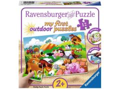 Ravensburger Puzzle 56095 Zvířata ze statku 12 plastových dílků