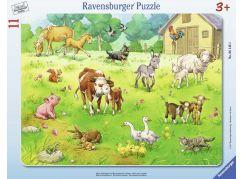 Ravensburger Puzzle 61433 Moje oblíbená zvířata 11 dílků