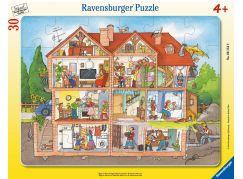 Ravensburger Puzzle 61549 Interiér domu 30 dílků