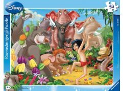 Ravensburger Puzzle 63987 Disney Kniha džunglí Mowgli a Balu 30 dílků