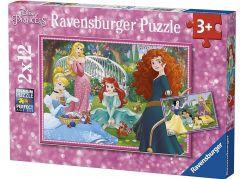 Ravensburger Puzzle 76208 Disney Princezny 2x12 dílků