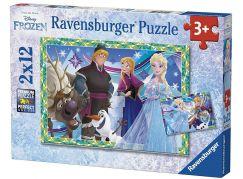 Ravensburger Puzzle 76215 Disney Ledové království 2x12 dílků