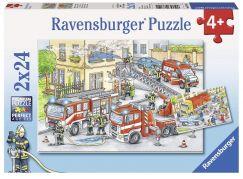 Ravensburger Puzzle 78141 Hasiči 2x24 dílků