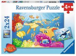 Ravensburger Puzzle 78158 Pod mořem 2x24 dílků