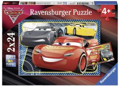 Ravensburger Puzzle 78165 Disney Auta: Dobrodružství McQueen 2x24 dílků