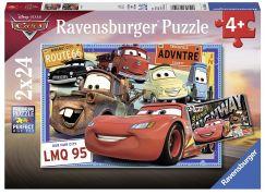 Ravensburger Puzzle 78196 Disney Auta 2x24 dílků