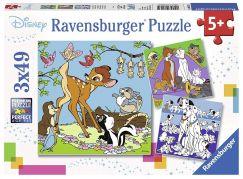 Ravensburger Puzzle 80434 Disney kamarádi 3x49 dílků