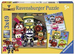 Ravensburger Puzzle 80472 Roboti 3x49 dílků