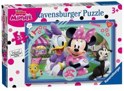 Ravensburger Puzzle 86108 Disney Minnie Šťastní pomocníci 35 dílků